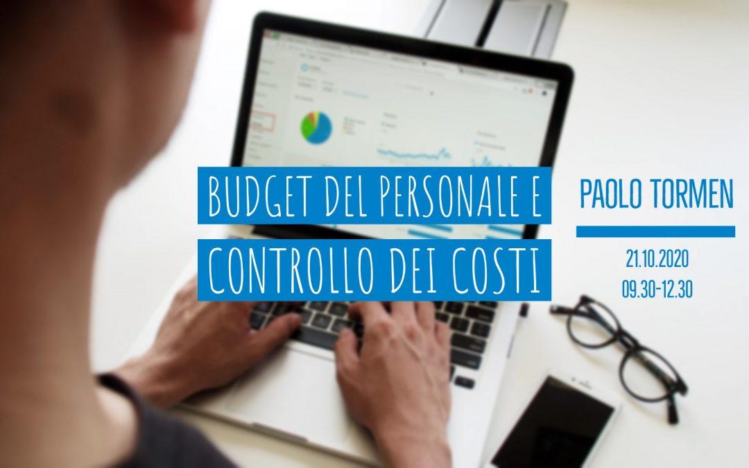 LiveTalk TDU | Budget del personale e controllo dei costi