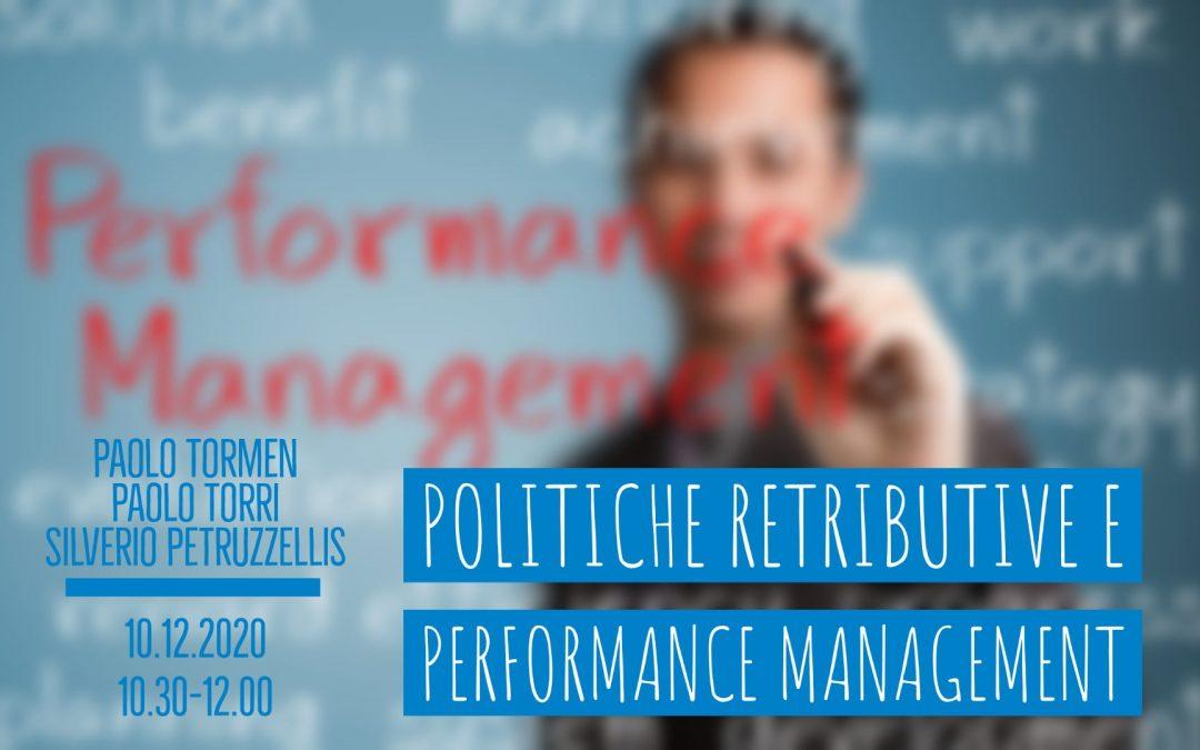 LiveTalk TDU | Politiche retributive e performance management