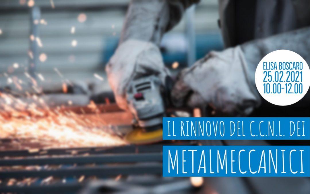 [LiveTalk TDU] Il rinnovo del C.C.N.L. dei Metalmeccanici