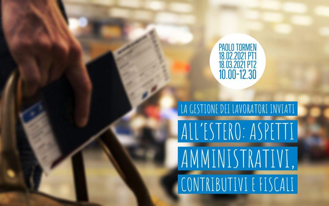 [LiveTalk TDU] La gestione dei lavoratori inviati all'estero